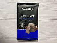 Бельгийский шоколад Cachet (Кашет) черный 70% какао.