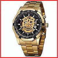 Часы наручные мужские Winner Skeleton Gold (M_G_080419_42-1)