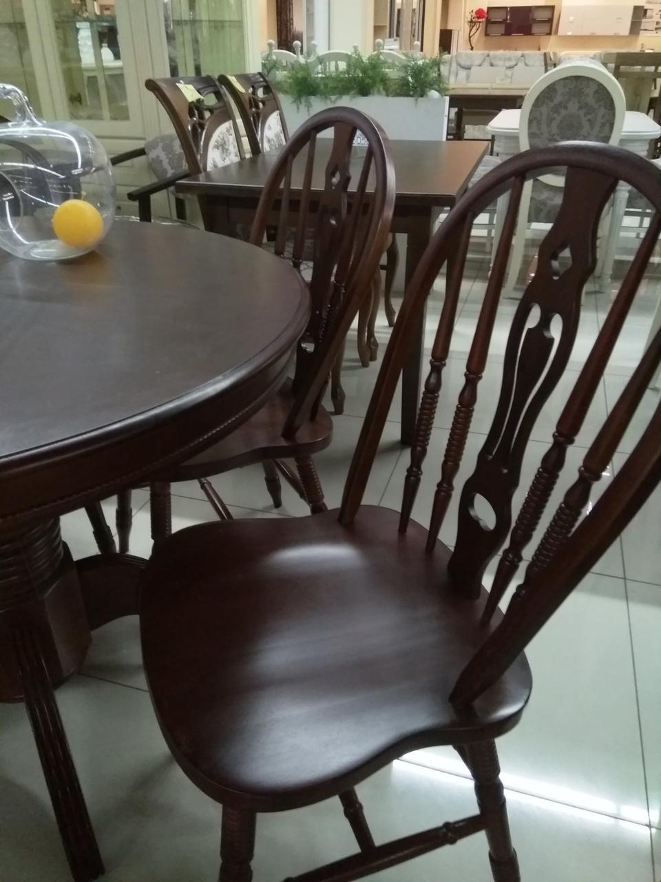 Обеденный стул C221-S цвет вишня Green River Wood, гевея