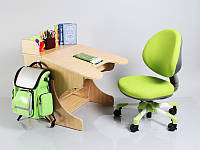 Парта и анатомические кресла. Регулируемый комплект для детейре