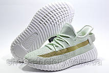 Женские кроссовки Baas Yeezy Boost, мятные, фото 3