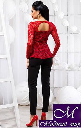 Женский брючный костюм нарядный (р. 42, 44, 46) арт. 18-761, фото 2