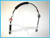 Трос переключения передач левый 93cm RENAULT KANGOO 05-  ОРИГИНАЛ 7701479154