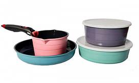 Набор посуды 7 предметов Hilton FP-2452