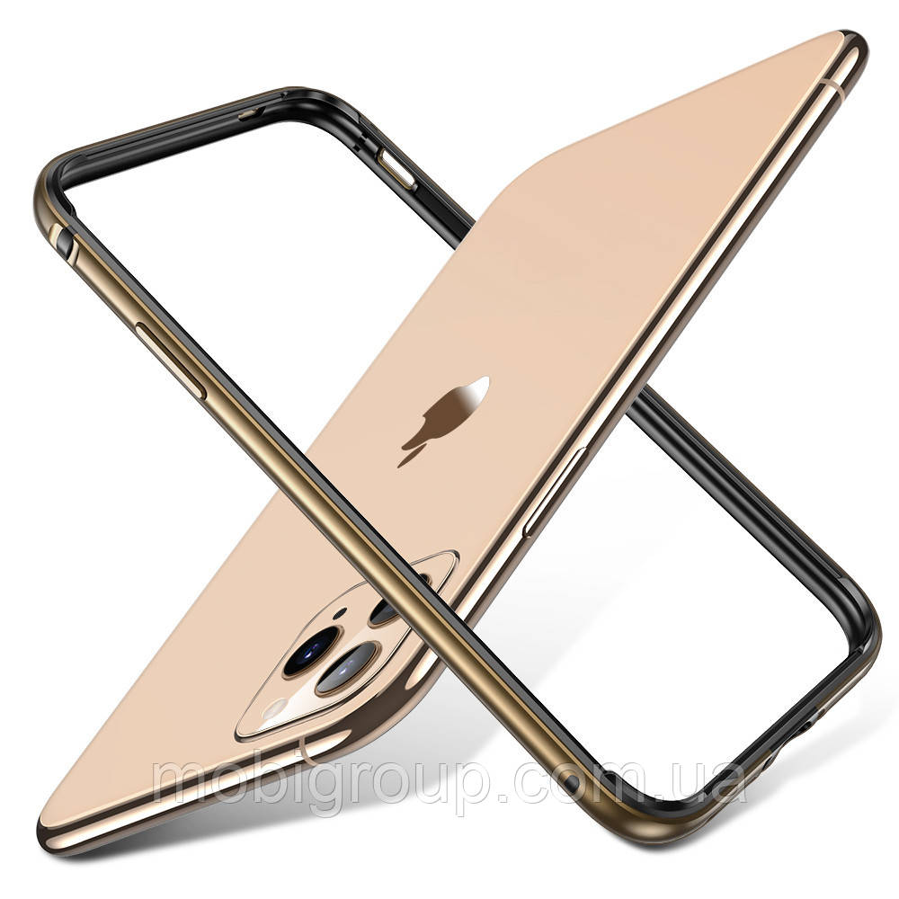 Бампер ESR для iPhone 11 Pro Crown Metal (Edge Guard), Gold (4894240091678)