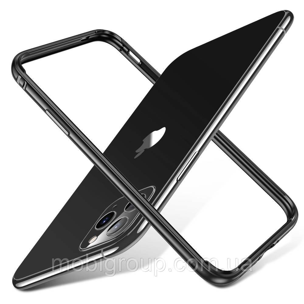 Бампер ESR для iPhone 11 Pro Max Crown Metal (Edge Guard), Gray (4894240092521)