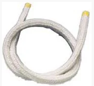 Шнур уплотнительный для дверей котла и печи термостойкий круглый 8мм (Керамический)