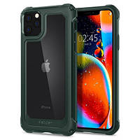 Чехол Spigen для iPhone 11 Pro Max Gauntlet, Hunter Green (075CS27497)