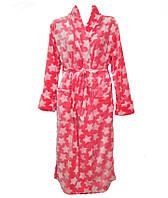 Халат женский длинный,комсомольский трикотаж от производителя,интернет магазин,женская одежда,велсофт