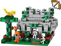 Конструктор JVTOY Храм в джунглях серия Кубический мир 404 дет (tsi_55767)