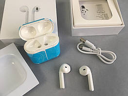 Бездротові Bluetooth-навушники IFANS з боксом для зберігання і зарядки!