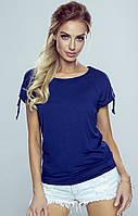 Блузка Erwina Eldar синего цвета, коллекция весна-лето 2020
