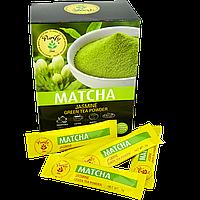 Чай Матча (зеленый) с жасмином стик 40гр (20 стиков по 2 гр)