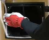 Ущільнювальний Шнур для дверей котла і печі термостійкий круглий 10мм (Керамічний), фото 4
