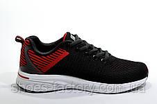 Кроссовки унисекс Baas, Black\Red\White, фото 3
