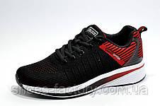 Кроссовки унисекс Baas, Black\Red\White, фото 2