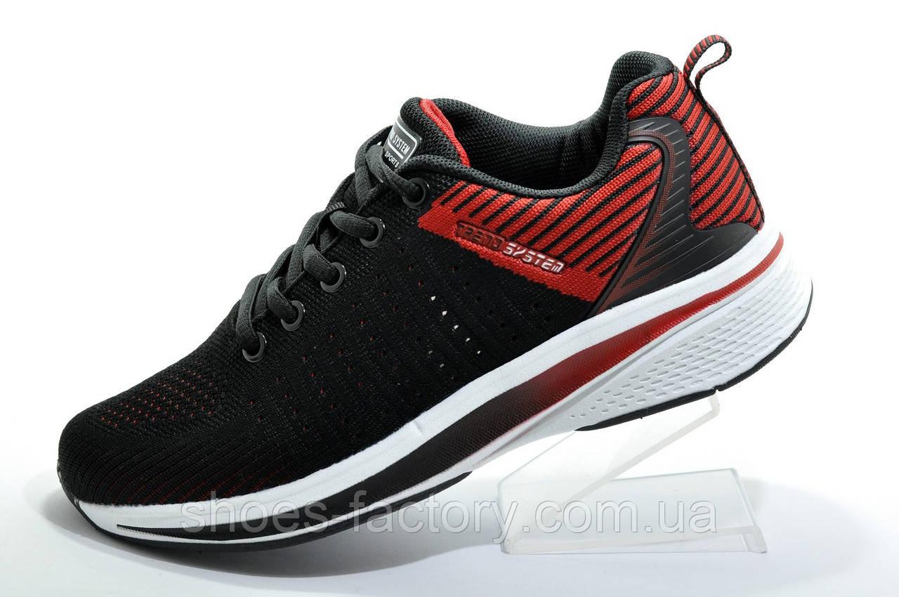 Кроссовки унисекс Baas, Black\Red\White