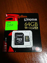 Kingston Digital 64GB Microsdhc Class U3 UHS-I 90R/45W + SD Adapter (SDCG/64GB)