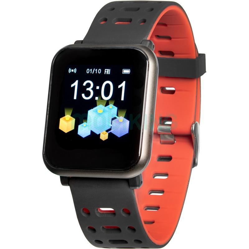 Smart Watch Gelius Pro GP-CP11 Plus (AMAZWATCH 2020) (IP68) Black/Red