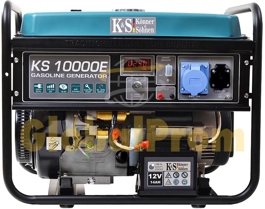Бензиновый генератор Könner & Söhnen KS 10000E