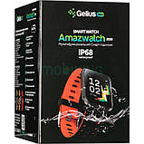 Smart Watch Gelius Pro GP-CP11 Plus (AMAZWATCH 2020) (IP68) Black/Red, фото 4
