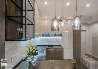 "Loft Delicate Tiny Apartment by #DSAvtograf. Modern living room using Urban Indastrial Decor. Modern light. Wooden floor. ЖК ""Central park"" - modern apartment with loft elements.    #dsavtograf #kyivdesign #design #interior #interiordesign #loft"