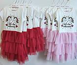 Платье для девочки  Единорог 3,года рост 98-104, фото 2