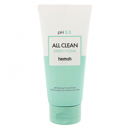 Пенка для умывания с pH 5.5 Heimish All Clean Green Foam, 150 г, фото 2