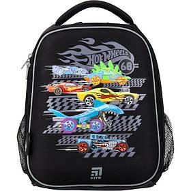 Рюкзак школьный каркасный Kite Education Hot Wheels HW20-555S