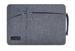 """Сумка-чехол для ноутбука влагозащитный Gearmax 11.6""""- 12"""" Темно-серый (acf_00399)"""