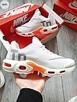 Чоловічі кросівки Nike Air Max Tn (білі) 297PL, фото 3