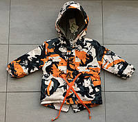 Куртка-парка весенняя на мальчика 3 года