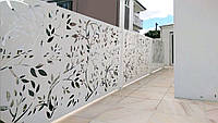 Декоративные ворота из металла