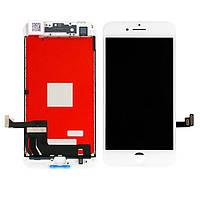 Дисплей iPhone 8 plus  белый  LCD экран, тачскрин