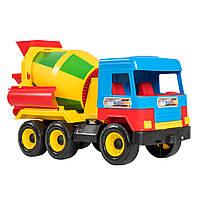 Детская игрушечная машинка бетономешалка для мальчика