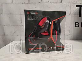 Игровая Гарнитура REAL-EL GDX-7600