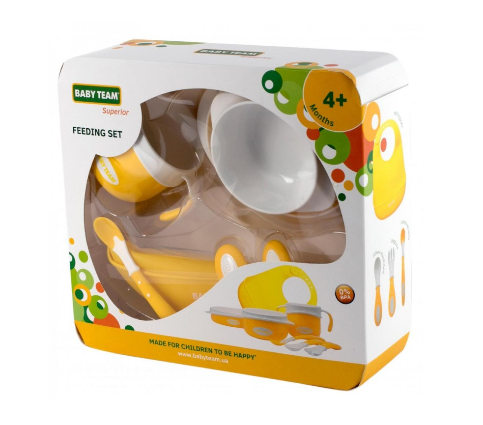 Набор детской посуды Baby Team (7 единиц)