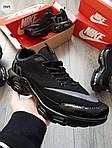 Чоловічі кросівки Nike Air Max Tn (чорні) 296PL, фото 4