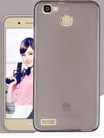Силиконовый чехол для Huawei GR3 / G8 mini / Enjoy 5S черный прозрачный