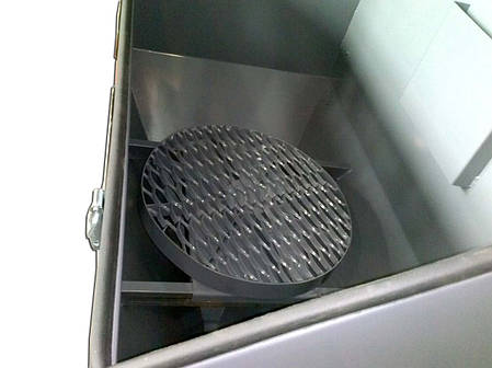 Поворотный стол для пескоструйных камер, фото 2