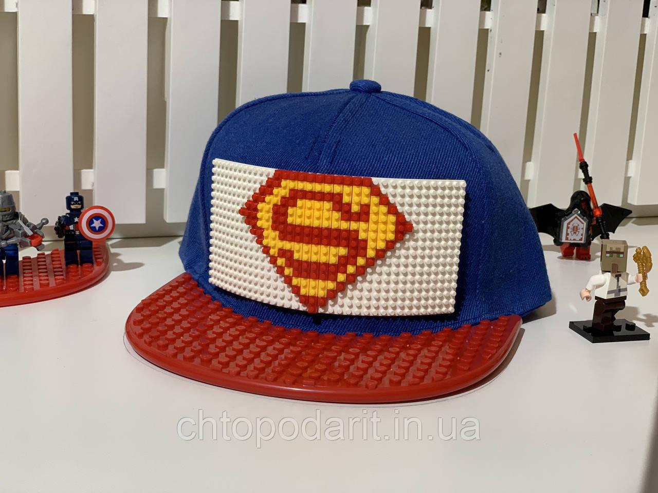 """Бейсболка конструктор """"Супермен"""" Код 12-0806"""