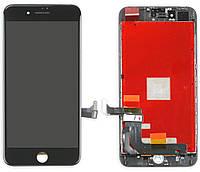 Дисплей iPhone 8 plus  черный  LCD экран, тачскрин