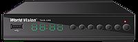World Vision T62A LAN (Обучаемый пульт) цифровой эфирный DVB-T2 приемник