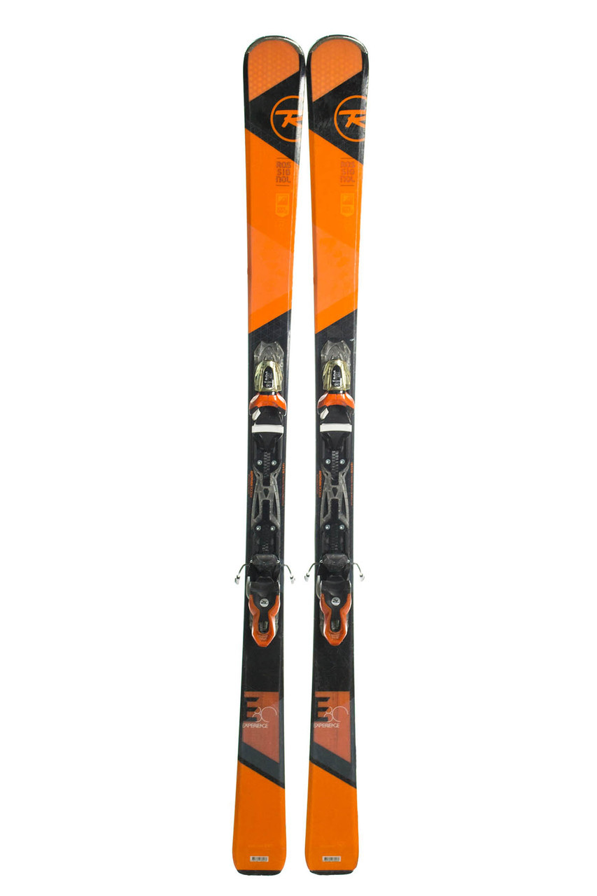 Лыжи горные Rossignol Experience E80 144 Black-Orange Б / У