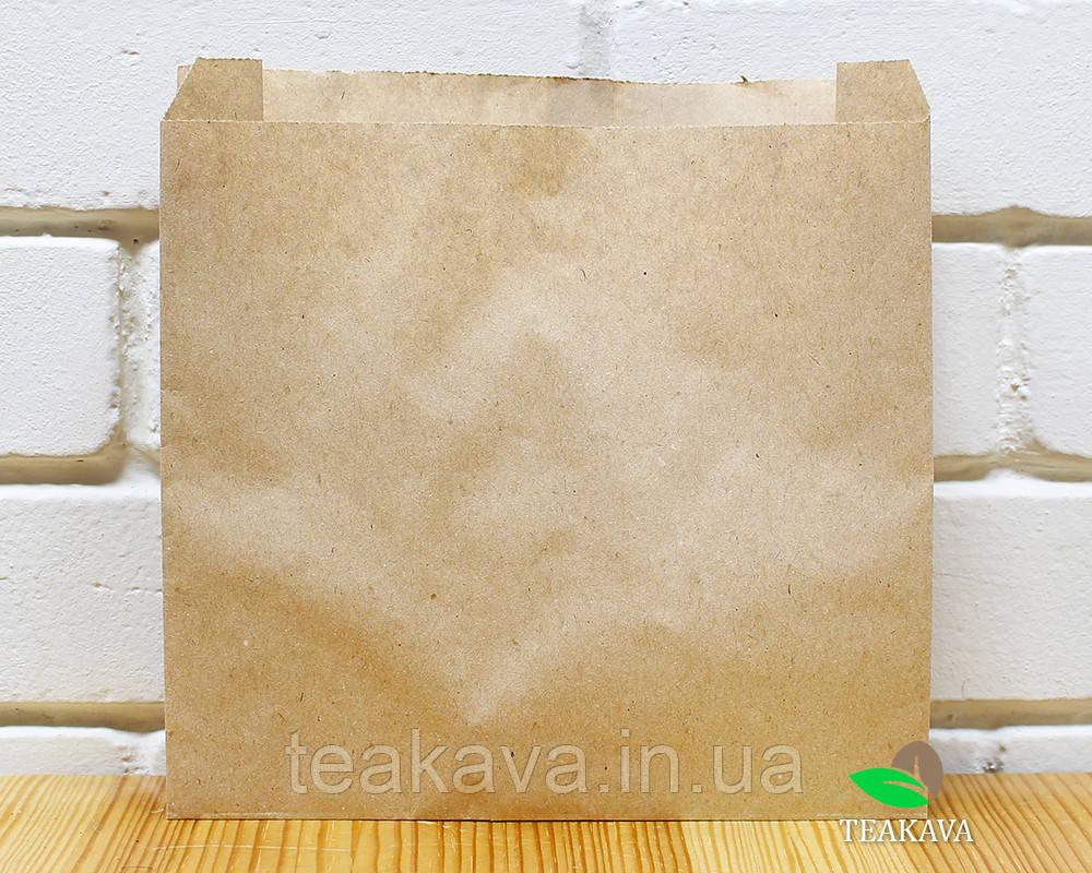 Крафт-пакет паперовий 250х250х60 мм, 100 шт