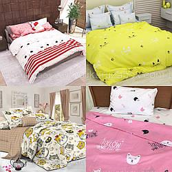 """Комплекты постельного белья с кошками   """"Вербные котики"""" из бязи голд"""
