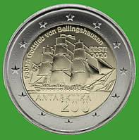 Эстония 2 евро 2020 г. 200 лет со дня открытия Антарктиды . UNC