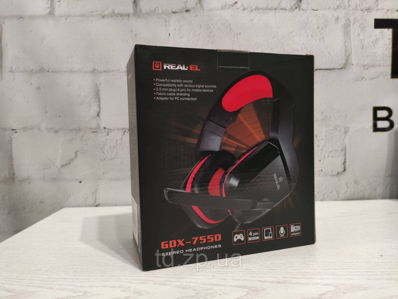 Игровая Гарнитура REAL-EL GDX-7550