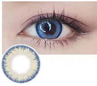 """Цветные линзы для глаз """"Кристалл"""" + контейнер для линз в подарок"""