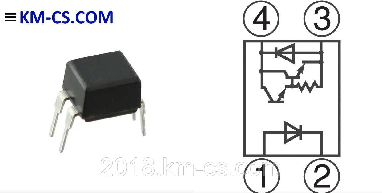 Оптопара PC853XJ0000F (Sharp)